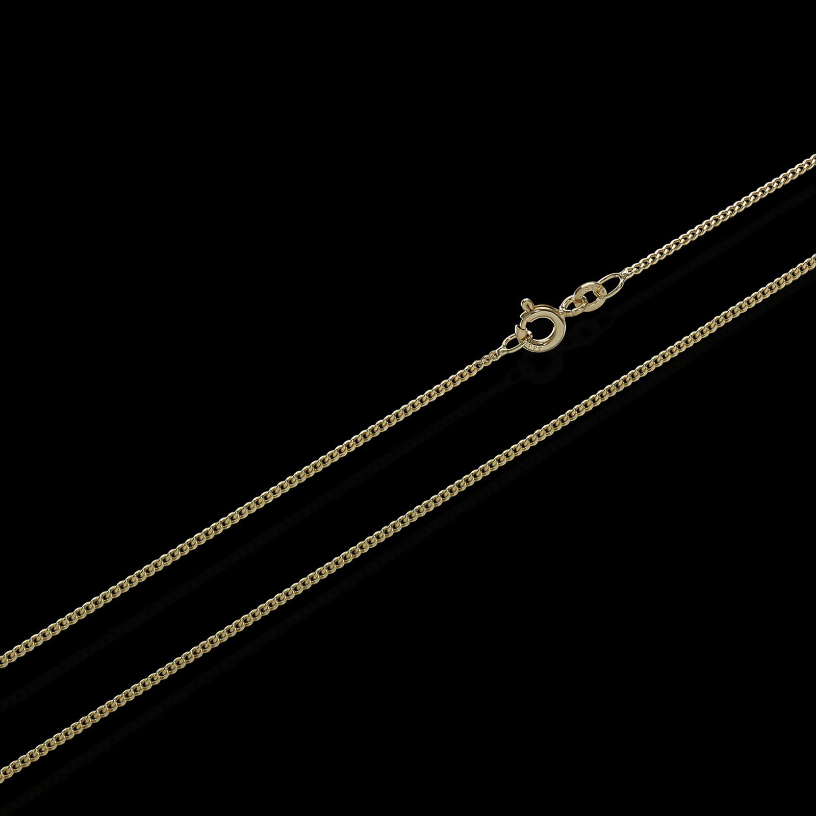 echt 333 585 750er gold kette panzerkette gold halskette. Black Bedroom Furniture Sets. Home Design Ideas