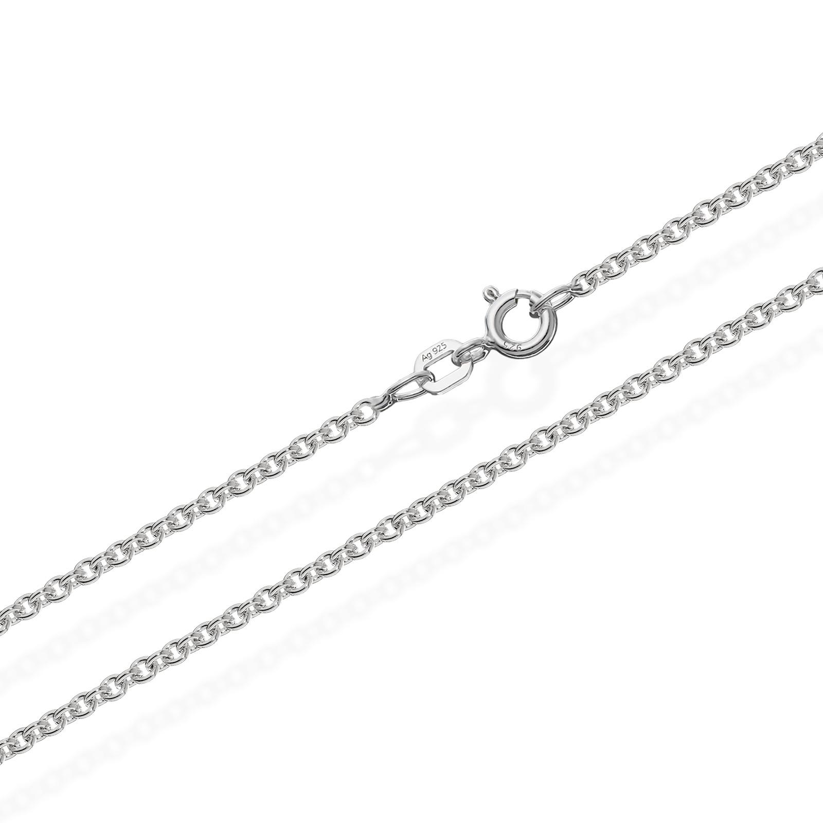 50cm ANKERKETTE 925 Sterling Silber Kette Rund MASSIV Collier 6,7gr 2,40mm  3518 3f4f00dd76