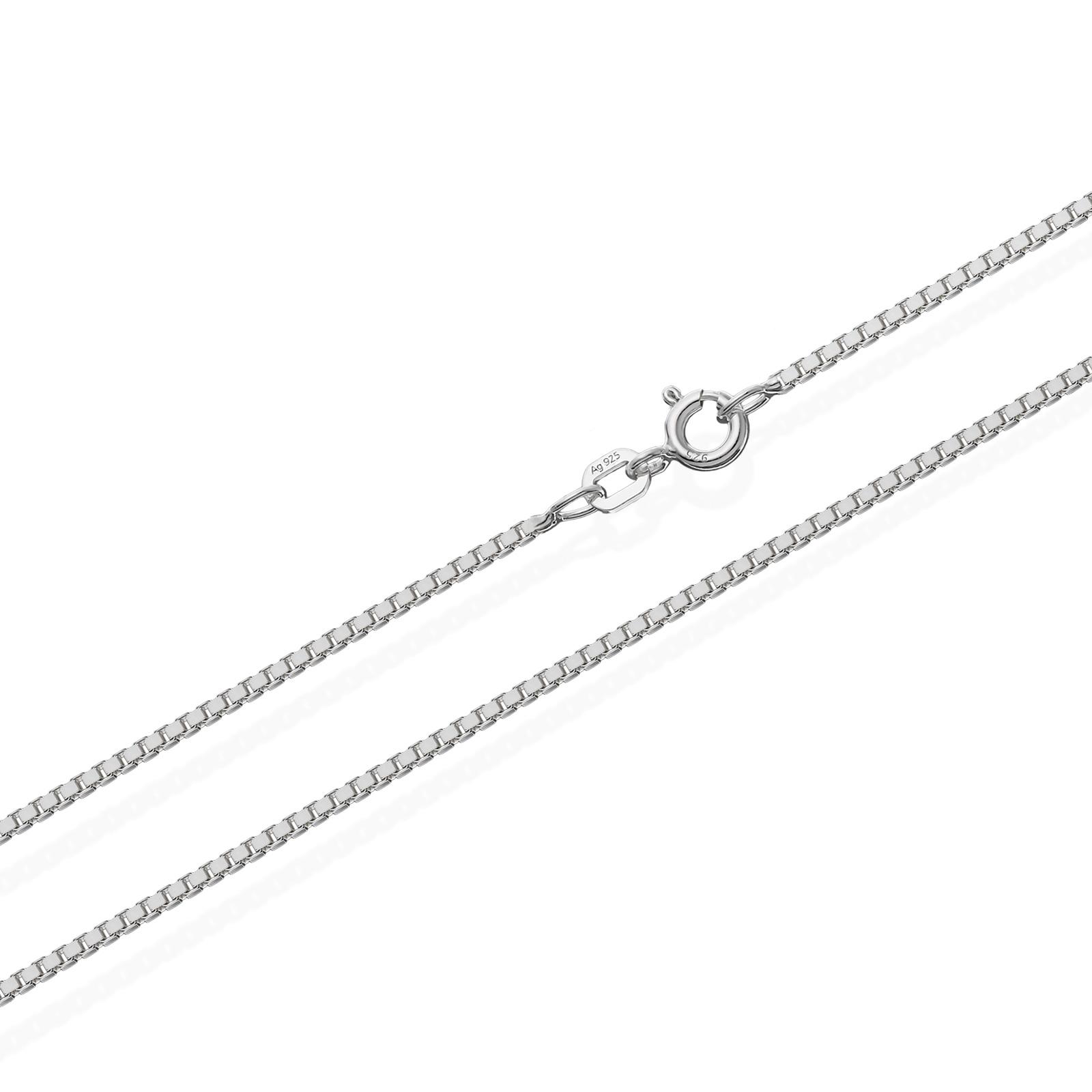 echte 925er Sterlingsilber Venezianerkette Silberkette Halskette Damen Herren 0,70mm